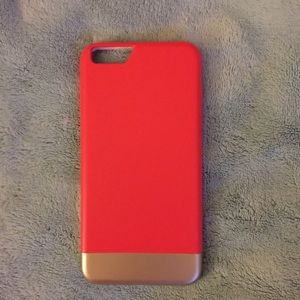 Other - Coral and Gold case for an iPhone 6 Plus